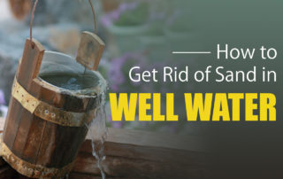 sand in well water