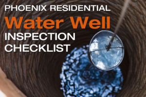 phoenix residential water well inspection checklist