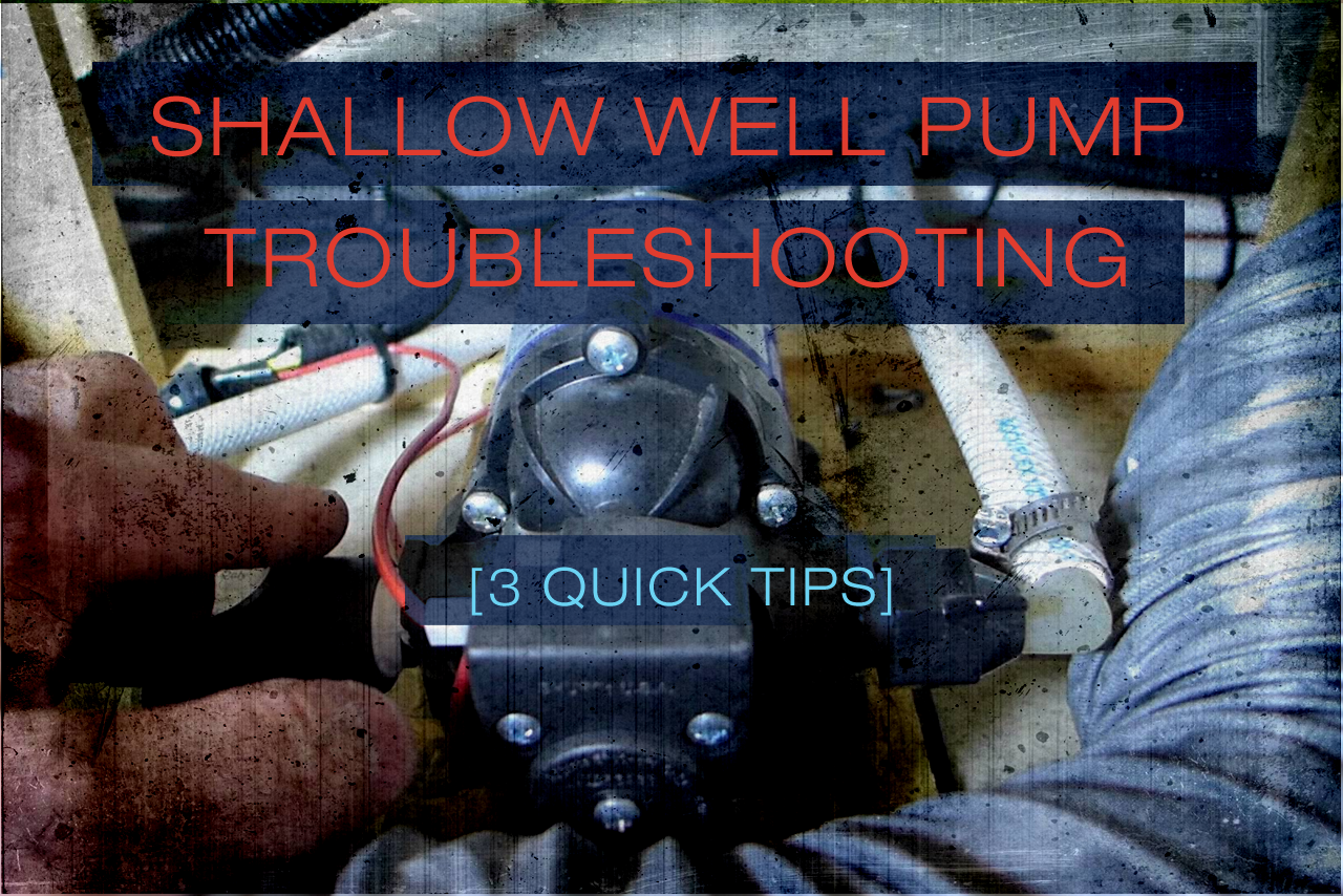 Shallow Well Pump Troubleshooting 3 Quick Tips Empire