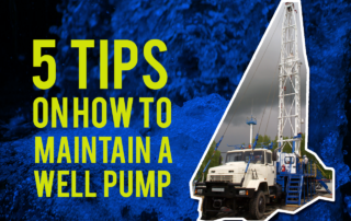 maintain a well pump