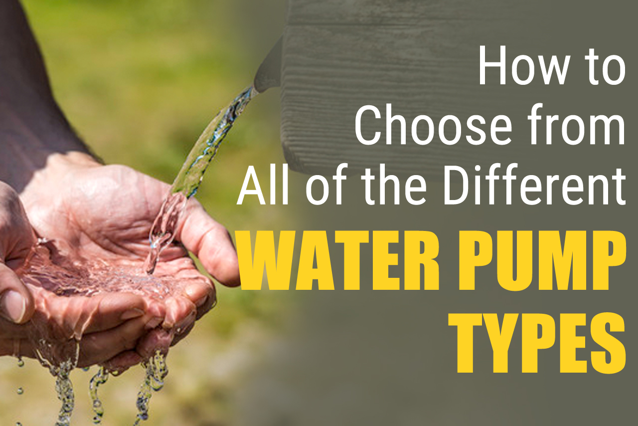 Tips to choose the best water pump types from a well pump installation company in Phoenix AZ