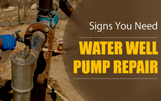 Signs you need water well pump repair