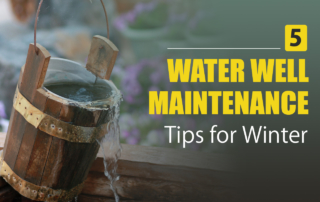 water well maintenance in the winter