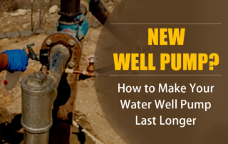 New well pump from best well pump replacement company