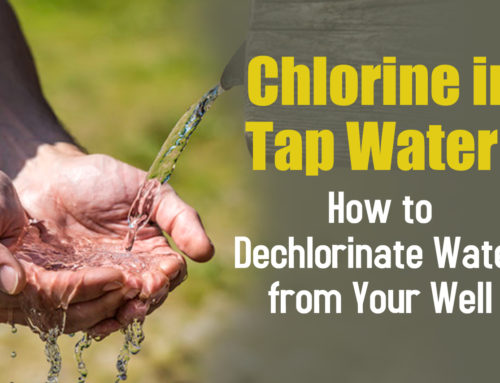 Chlorine in Tap Water: How to Dechlorinate Water from Your Well