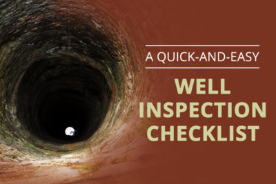 Quick and easy checklist for well inspection services in Arizona