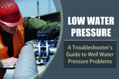 Troubleshoot your low water pressure before calling water well repair services in Phoenix