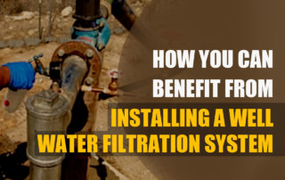 Installing water filtration system