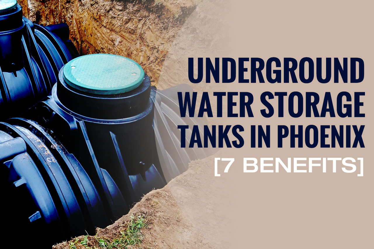 Underground Water Storage Tanks in Phoenix AZ