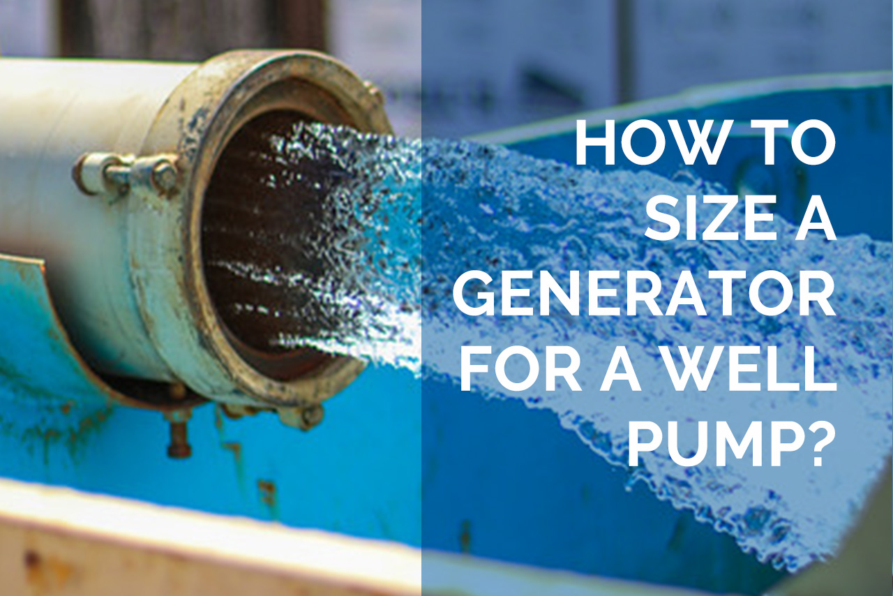 Generator for a Well Pump