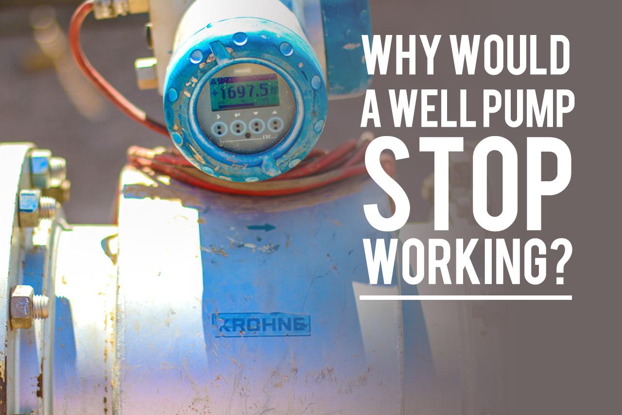 Well Pump Not Working