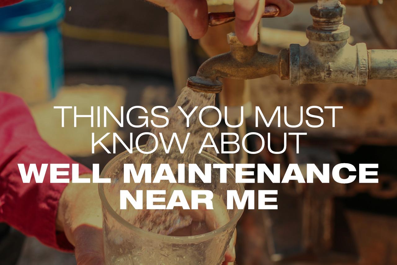 Well Maintenance
